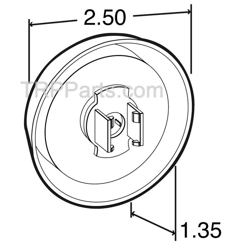 Grommet Kit Marker Light 2 12