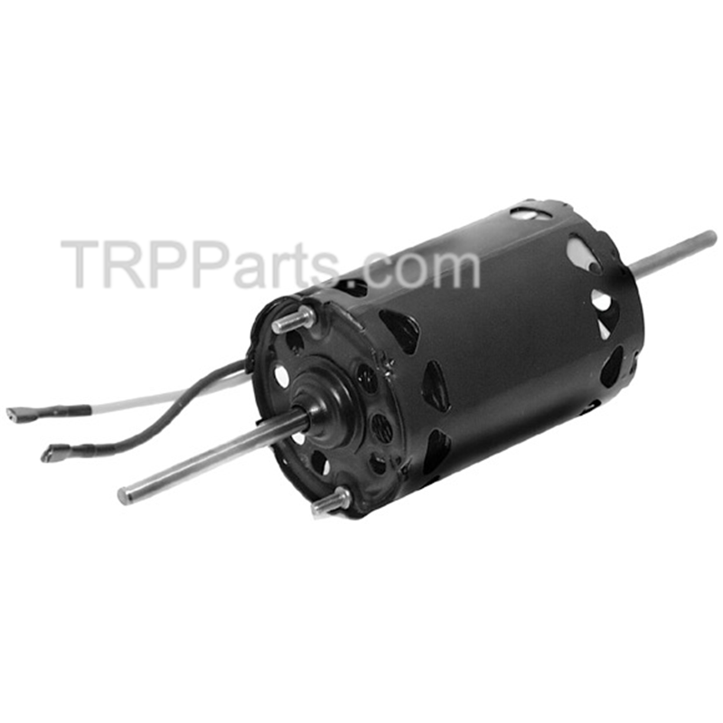 DOUBLE SHAFT BLOWER MOTOR - 1 SPEED - 12V - ROTATION IS COUNTER